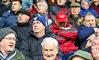 Burnley fans watch on as the match kicks off<br /> <br /> Photographer Alex Dodd/CameraSport<br /> <br /> The Premier League - Burnley v West Ham United - Sunday 30th December 2018 - Turf Moor - Burnley<br /> <br /> World Copyright © 2018 CameraSport. All rights reserved. 43 Linden Ave. Countesthorpe. Leicester. England. LE8 5PG - Tel: +44 (0) 116 277 4147 - admin@camerasport.com - www.camerasport.com