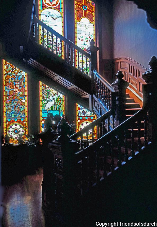 San Diego: Britt House--Interior.  (Photo '80)