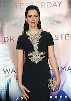 Rebecca Hall at the Los Angeles premiere of her movie &quot;Transcendence&quot; at the Regency Village Theatre, Westwood.<br /> April 10, 2014  Los Angeles, CA<br /> Picture: Paul Smith / Featureflash