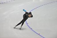 SCHAATSEN: CALGARY: Olympic Oval, 08-11-2013, Essent ISU World Cup, 1500m, Brian Hansen (USA), ©foto Martin de Jong