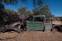 Lincoln Chassis, Wall Street Mill, Joshua Tree National Park, California, US