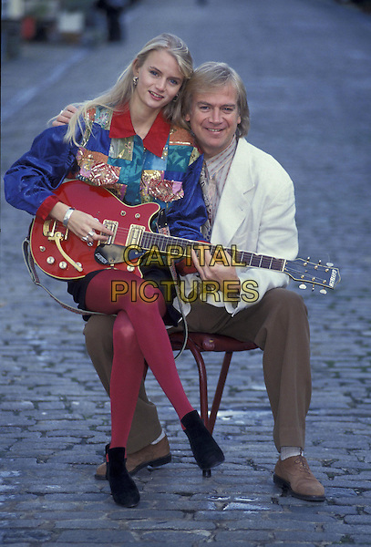 JUSTIN HAYWARD & daughter DOREMI.ref:026.haywood.www.capitalpictures.com.sales@capitalpictures.com.©Capital Pictures
