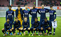 6th November 2019; Vozdovac Stadium, Belgrade, Serbia; UEFA Under 19 UEFA Youth league football, FK Crvena Zvezda under 19s versus Tottenham Hotspur under 19s; The players of Tottenham Hotspur line-up