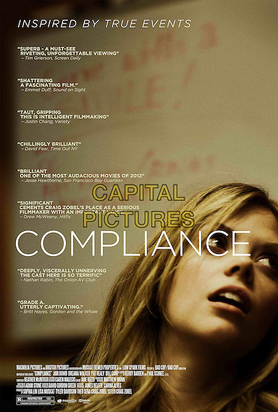 POSTER ART.in Compliance (2012) .*Filmstill - Editorial Use Only*.CAP/FB.Supplied by Capital Pictures.