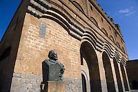 Palazzo del Capitano del Popolo in Ovieto, Umbrien, Italien
