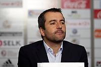 Diego Mart&iacute;nez (Coach; CA Osasuna) during the Spanish la League soccer match between CA Osasuna and CD Lugo at Sadar stadium, in Pamplona, Spain, on Saturday, <br /> April 28, 2018.