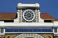 Afrique/Afrique de l'Ouest/Sénégal/Dakar : La gare
