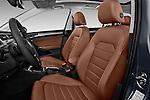 Front seat view of 2017 Volkswagen Golf-Alltrack SEL 5 Door Wagon Front Seat  car photos