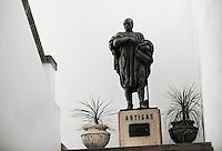 URUGUAY Montevideo, scuplture of Artigas, José Gervasio Artigas Arnal (June 19, 1764 – September 23, 1850) is a national hero of Uruguay