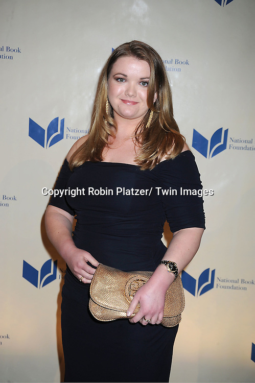 nominee Tea Obreht attends The 2011 National Book Awards Gala on November 16, 2011 at Cipriani Wall Street in New York City.