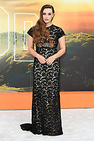 "LONDON, UK. July 30, 2019: Katherine Langford at the UK premiere for ""Once Upon A Time In Hollywood"" in Leicester Square, London.<br /> Picture: Steve Vas/Featureflash"