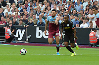 Ryan Fredericks of West Ham United and m`7` during West Ham United vs Manchester City, Premier League Football at The London Stadium on 10th August 2019