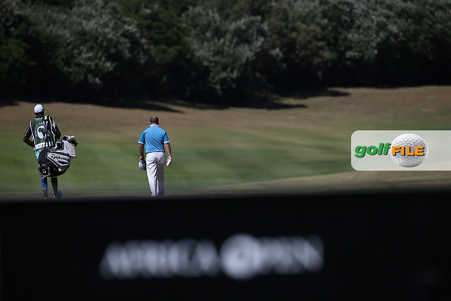 Damien McGrane (IRL) heads down the 11th during Round Three of the Africa Open 2015 at the East London Golf Club, East London, Eastern Cape, South Africa. Picture:  David Lloyd / www.golffile.ie. 07/03/2015