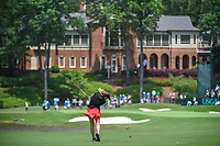 Ceilia Barquin Arozamena (a)(ESP) hits her approach shot on 18 during round 1 of the U.S. Women's Open Championship, Shoal Creek Country Club, at Birmingham, Alabama, USA. 5/31/2018.<br /> Picture: Golffile | Ken Murray<br /> <br /> All photo usage must carry mandatory copyright credit (&copy; Golffile | Ken Murray)