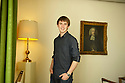 Andy Perham,who at the age of 17 years 5 months and 11 daysbecame the youngest person to have sailed round the world and now author of Dailing The Dream  at Christchurch College at The Oxford Literary Festival 2010.CREDIT Geraint Lewis
