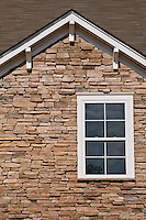 Stone work on a D.R. Horton homes located with in Berewick neighborhood in Charlotte, NC.