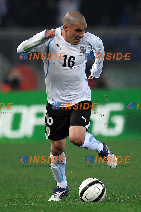 Maximiliano PEREIRA Uruguay.Roma 15/11/2011 Stadio Olimpico.Football Calcio .Italia Uruguay Friendly Match.Foto Insidefoto Andrea Staccioli