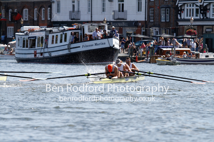 Race: 19 - Event: VISITORS' - Berks: 217 CAMBRIDGE UNIVERSITY - Bucks: 223 LEANDER CLUB<br /> <br /> Henley Royal Regatta 2017<br /> <br /> To purchase this photo, or to see pricing information for Prints and Downloads, click the blue 'Add to Cart' button at the top-right of the page.