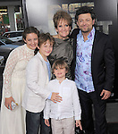"Andy Serkis,Lorraine Ashbourne with Sonny,Louis & Ruby attends The 20th Century Fox L.A. Premiere of ""Rise of the Planet of The Apes"" held at The Grauman's Chinese Theatre in Hollywood, California on July 28,2011                                                                               © 2011 DVS / Hollywood Press Agency"