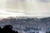 Veduta di Genova. <br /> Cityscape of Genoa.<br /> UPDATE IMAGES PRESS/Riccardo De Luca