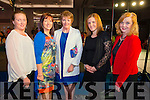 L-R Sarah O'Donoghue from Ventry, Doreen Moriarty from Lispola, Margaret Moriarty from Lispola, Maeve O'Connor from Dingle and Maeve O'Donoghue from Ventry at the Cairde an Leigiun Designer Fashion Event at The Malton Hotel, Killarney last Friday night.