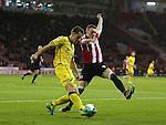 Caolan Lavery of Sheffield Utd during the League One match at Bramall Lane Stadium, Sheffield. Picture date: September 27th, 2016. Pic Simon Bellis/Sportimage
