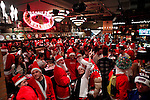 2012 SantaCon party in New York