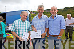 Race goers attending the races at Cahersiveen on Sunday pictured l-r; Dan Garvey, Michael Musgrave & John Houlihan.