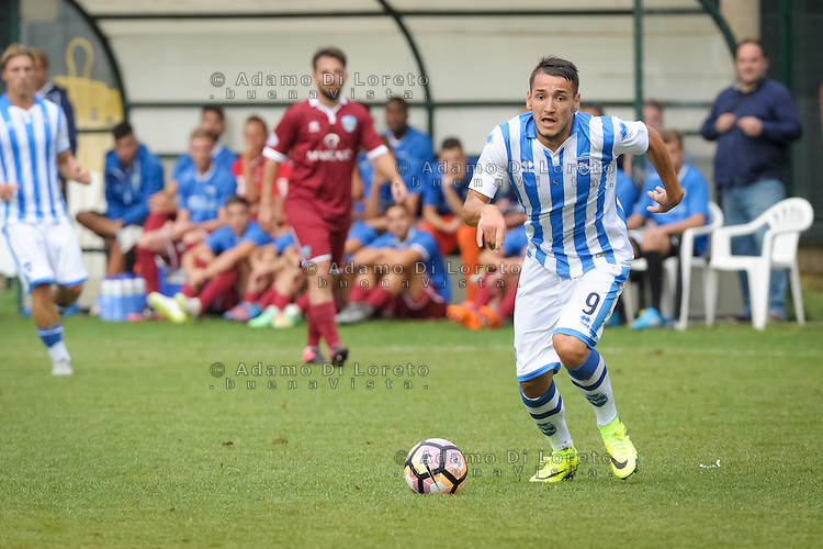 Manaj Rei  (Pescara)  during the withdrawal preseason Serie A; match friendly between Pescara vs San Nicolò, on July 28, 2016. Photo: Adamo Di Loreto/BuenaVista*photo