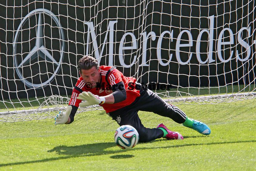 Roman Weidenfeller - Testspiel der Deutschen Nationalmannschaft gegen die U20 zur WM-Vorbereitung in St. Martin