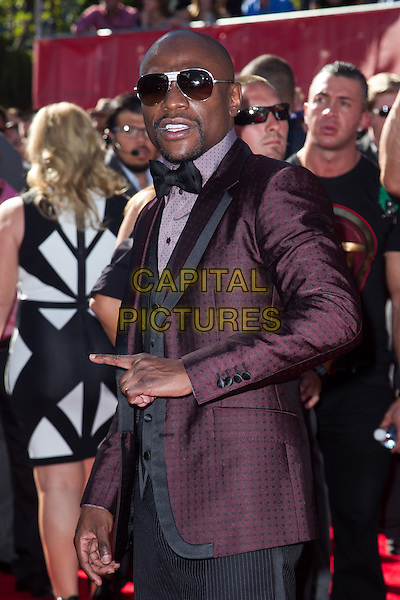 LOS ANGELES, CA - JULY 16: Floyd Mayweather Jr. at the 2014 ESPYs at Nokia Theatre L.A. Live in Los Angeles, California on July 16th, 2014.   <br /> CAP/MPI/mpi99<br /> &copy;mpi99/MediaPunch/Capital Pictures