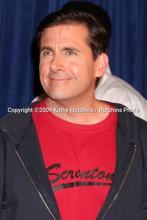 "Steve Carell  - 100th Episode of ""The Office""  On Location at Calamigos Ranch in Malibu , CA on April 14, 2009.©2009 Kathy Hutchins / Hutchins Photo....                ."