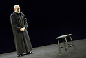 The Grand Inquisitor directed by Peter Brook. With Bruce Myers. Opens at the Barbican Pit Theatre 21/2/06. CREDIT Geraint Lewis