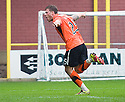 :: DUNDEE UTD'S DAVID GOODWILLIE CELEBRATES AFTER HE  SCORES UNITED'S SECOND :: .23/04/2011   Copyright  Pic : James Stewart.sct_jsp013_dundee_utd_v_kilmarnock .James Stewart Photography 19 Carronlea Drive, Falkirk. FK2 8DN      Vat Reg No. 607 6932 25.Telephone      : +44 (0)1324 570291 .Mobile              : +44 (0)7721 416997.E-mail  :  jim@jspa.co.uk.If you require further information then contact Jim Stewart on any of the numbers above.........