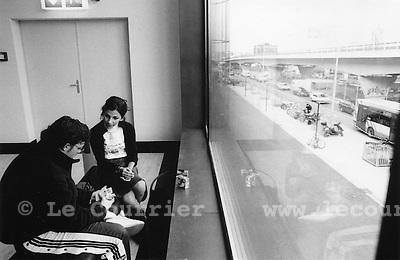 Genève, le 11.2002.la praille.© Interfoto