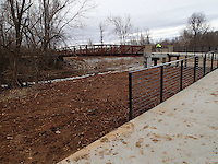 Creek crossing near Lake Springdale.