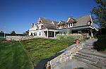 Waterfront view of the home of Pete and Judi Dawkins on the Navesink River in Rumson, New Jersey. CREDIT: Bill Denver for the Wall Street Journal..NYHODRUMSON
