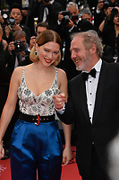 "CANNES, FRANCE. May 22, 2019: Lea Seydoux & Arnaud Desplechin at the gala premiere for ""Oh Mercy!"" at the Festival de Cannes.<br /> Picture: Paul Smith / Featureflash"