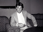 Jan-Michael Vincent  at the Le Parker Meriden Hotel on February 14, 1983 in New York City.