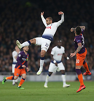 Tottenham Hotspur's Lucas Moura in full flight<br /> <br /> Photographer Rob Newell/CameraSport<br /> <br /> UEFA Champions League Quarter-finals 1st Leg - Tottenham Hotspur v Manchester City - Tuesday 9th April 2019 - White Hart Lane - London<br />  <br /> World Copyright © 2018 CameraSport. All rights reserved. 43 Linden Ave. Countesthorpe. Leicester. England. LE8 5PG - Tel: +44 (0) 116 277 4147 - admin@camerasport.com - www.camerasport.com