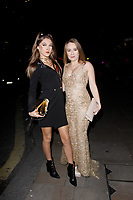 LONDON, ENGLAND - NOVEMBER 07 :  Rhiannon Ryder and Carmel Anderson attend The Paul Raymond Awards 2019, at the Cafe de Paris on November 07, 2019 in London, England.<br /> CAP/AH<br /> ©AH/Capital Pictures