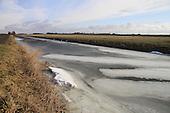 Smeltend ijs bij dooi