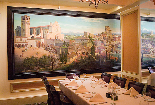 Oldest Italian Restaurant in the U.S., Fior D'Italia Restaurant, San Francisco, California