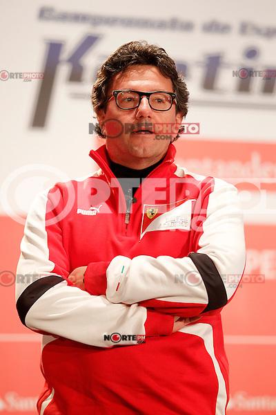 Luca Baldisserri director of the Ferrari Driver Academy during the gala Santander  Karting Champions 2012..(Alterphotos/Acero) NortePhoto
