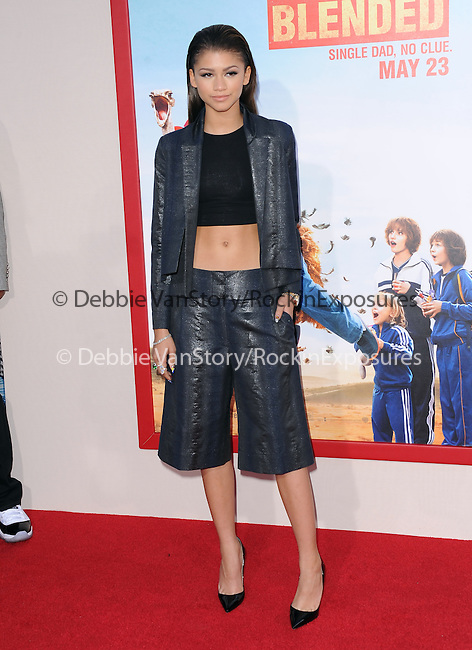 Zendaya attends The Warner Bros. Pictures News L.A. Premiere of Blended held at TCL Chinese Theatre in Hollywood, California on May 21,2014                                                                               © 2014 Hollywood Press Agency