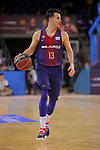 League ACB-ENDESA 2017/2018 - Game: 20.<br /> FC Barcelona Lassa vs Retabet Bilbao Basket: 90-58.<br /> Thomas Heurtel.