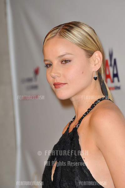 Abbie Cornish at the US-Ireland Alliance Oscar Wilde Gala honoring the Irish in Film, at the Ebell Club, Los Angeles..February 19, 2009  Los Angeles, CA.Picture: Paul Smith / Featureflash