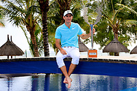 Dylan Frittelli (RSA) poses with the trophy after the final round of the Afrasia Bank Mauritius Open played at Heritage Golf Club, Domaine Bel Ombre, Mauritius. 03/12/2017.<br /> Picture: Golffile | Phil Inglis<br /> <br /> <br /> All photo usage must carry mandatory copyright credit (&copy; Golffile | Phil Inglis)