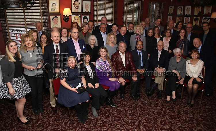 The UMass Lowel Cockail Party for 'Sunset Boulevard' hosted by Chancellor Jacquie Moloney, Bonnie Comley and Stewart F. Lane at Sardi's on April 5, 2017 in New York City