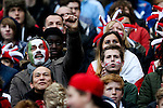 Italy fan celebrates the try - RBS 6 Nations - England vs Italy - Twickenham Stadium - London - 14/02/2015 - Pic Charlie Forgham-Bailey/Sportimage